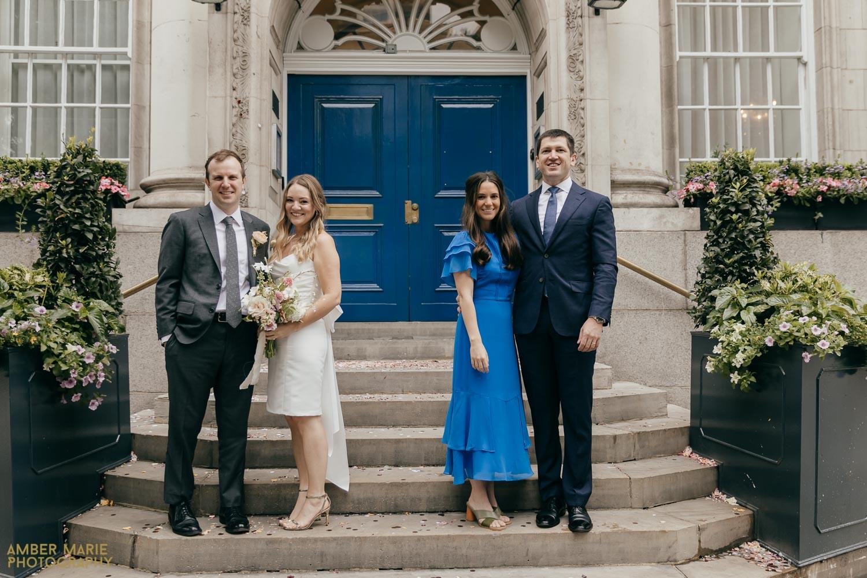 Socially Distanced wedding photos Creative London Wedding Photographer