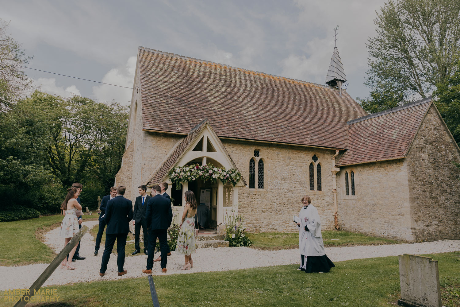 Cotswold Church Wedding Fairford at St Anne's Church in Whelford