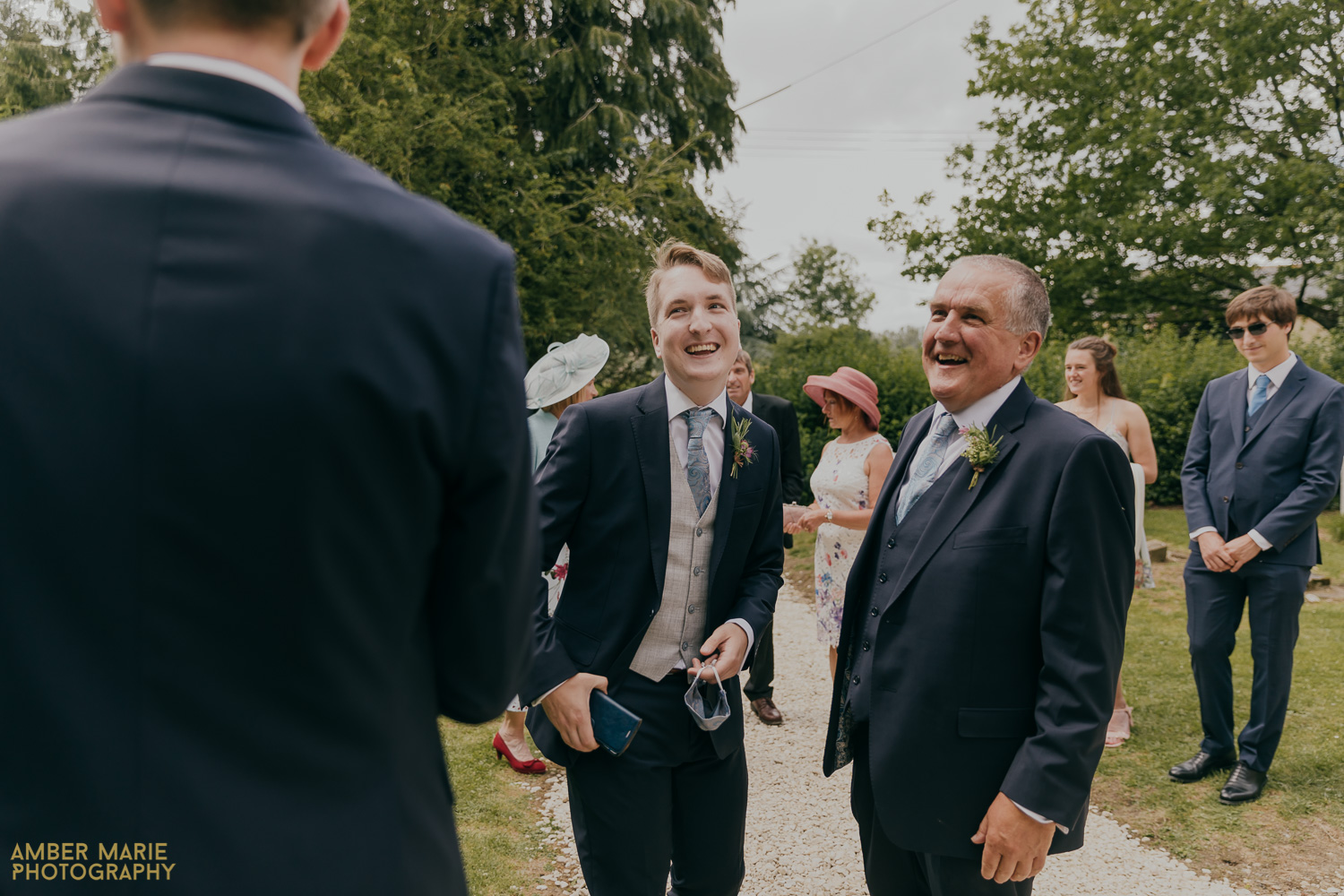 Candid wedding photography at Cotswold Church Wedding
