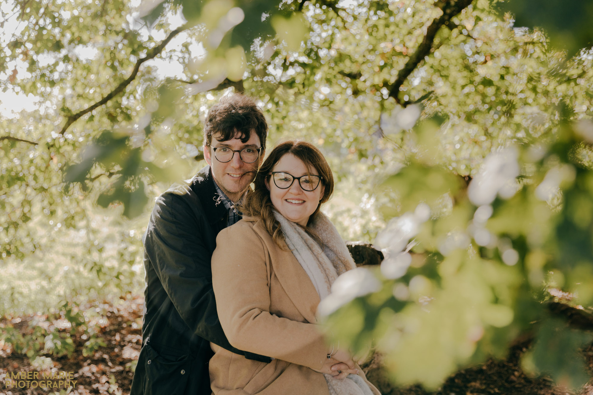 Autumnal Engagement Photography in The Cotswolds