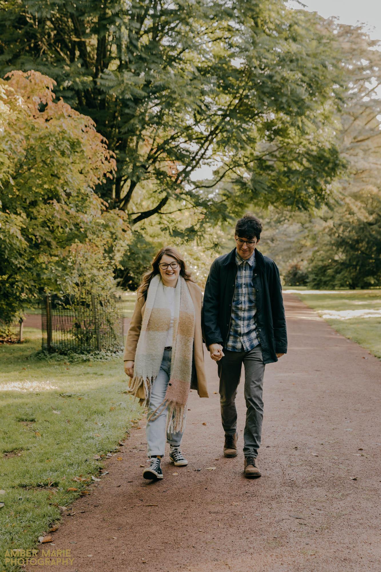 Autumn Engagement Photos near Bristol