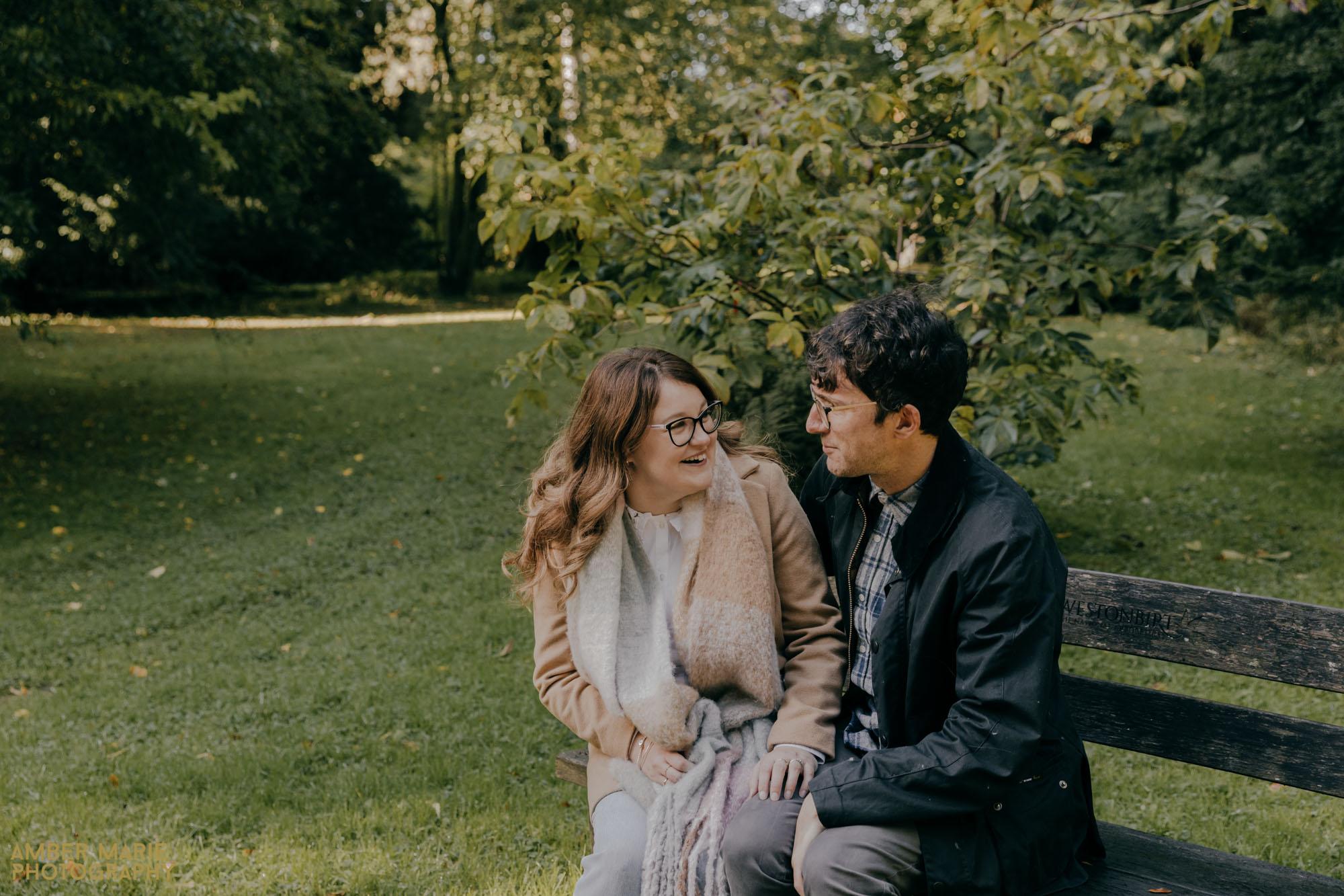 Autumn engagement Photography near Cirencester