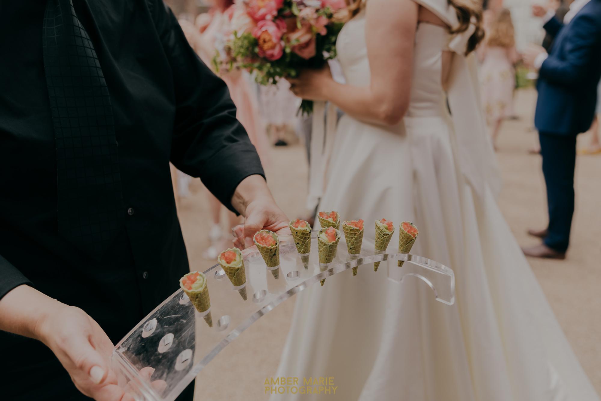 fulham palace wedding food