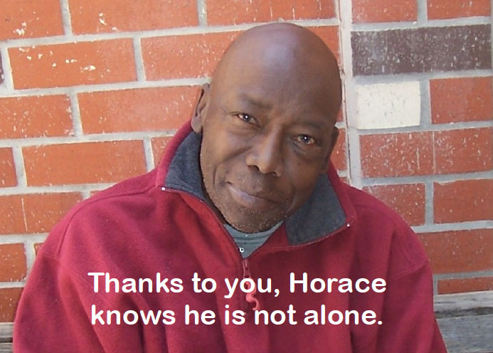 Our client Horace's story