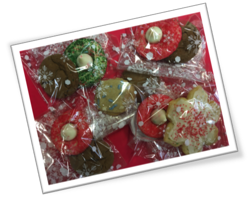 delicious holiday cookies for our clients