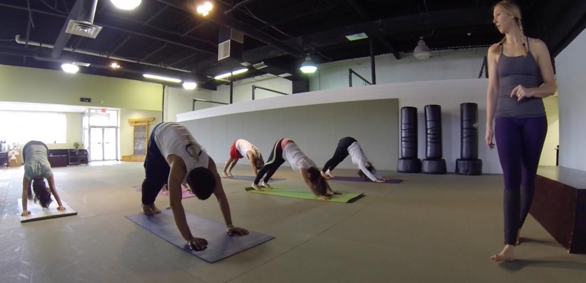 Early Morning Yoga!