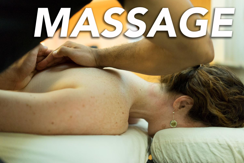 massage - Fitness and Wellness