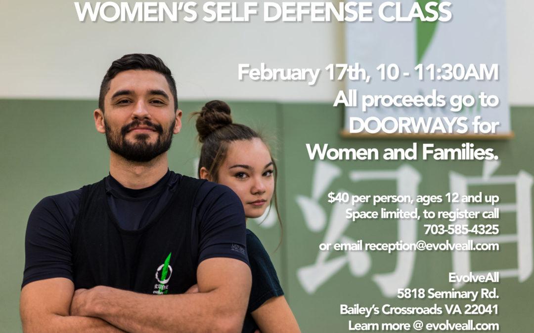 Womens Self Defense – February 17th