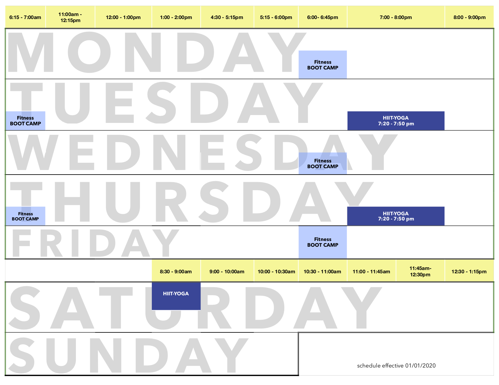EA Schedule BOOTCAMP Jan 2020 PNG2 - Boot Camp
