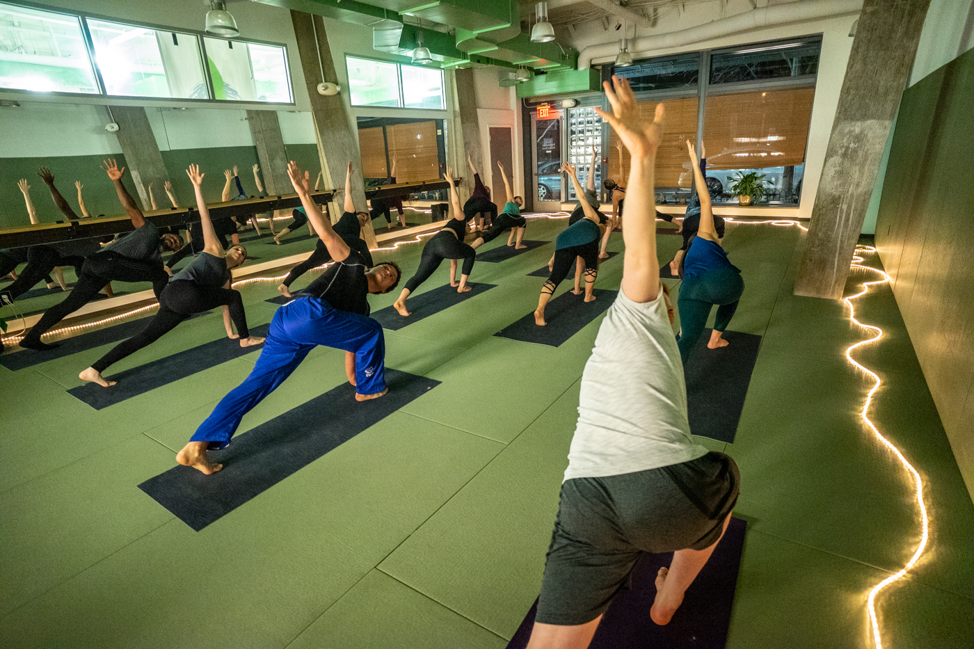 Yoga class in Arlington Virginia