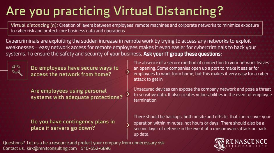 virtual distancing