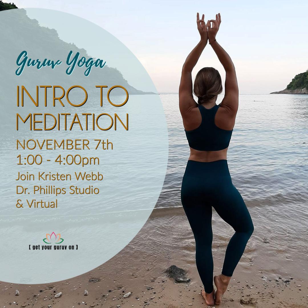 Orlando Yoga Guruv Dr Phillips Mediation Class
