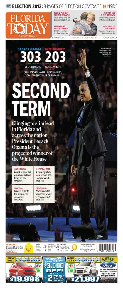 Print Design: Florida Today