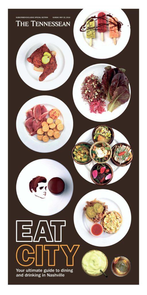 Print Design: Eat City