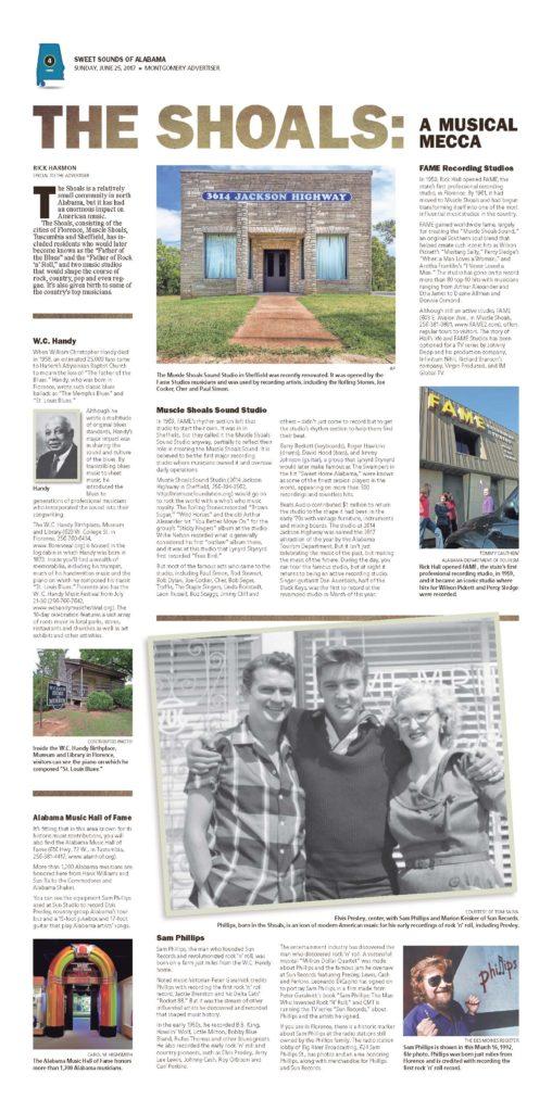 Print Design: Sweet Sounds of Alabama