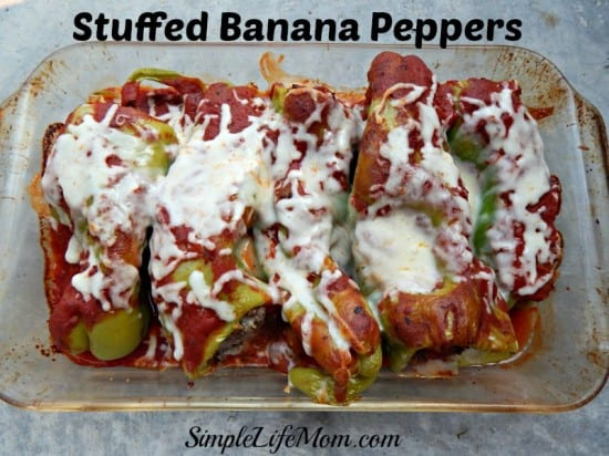 Stuffed Banana Peppers