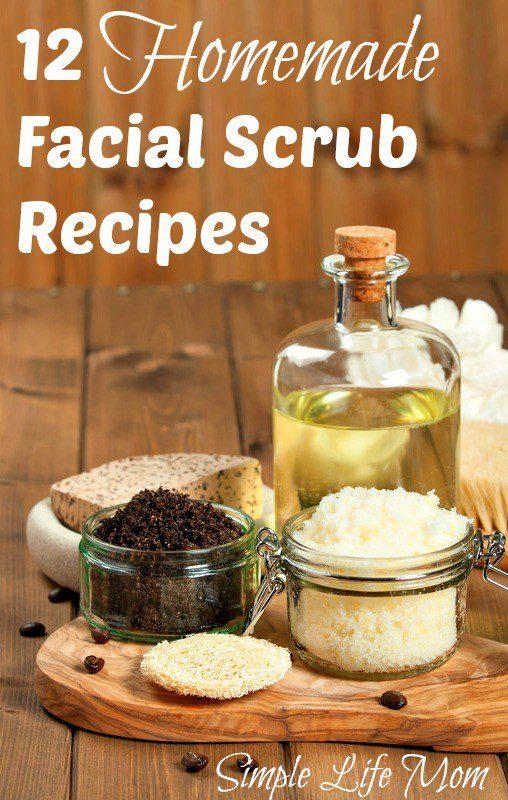 12 Homemade Facial Scrubs