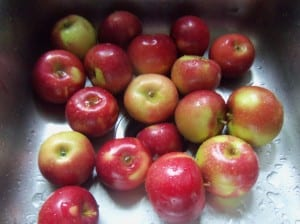 Homemade Apple Sauce Recipe. Make and keep in your fridge or Can - by SimpleLifeMom