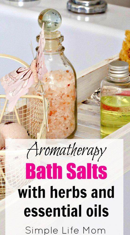 Aromatherapy Bath Salts