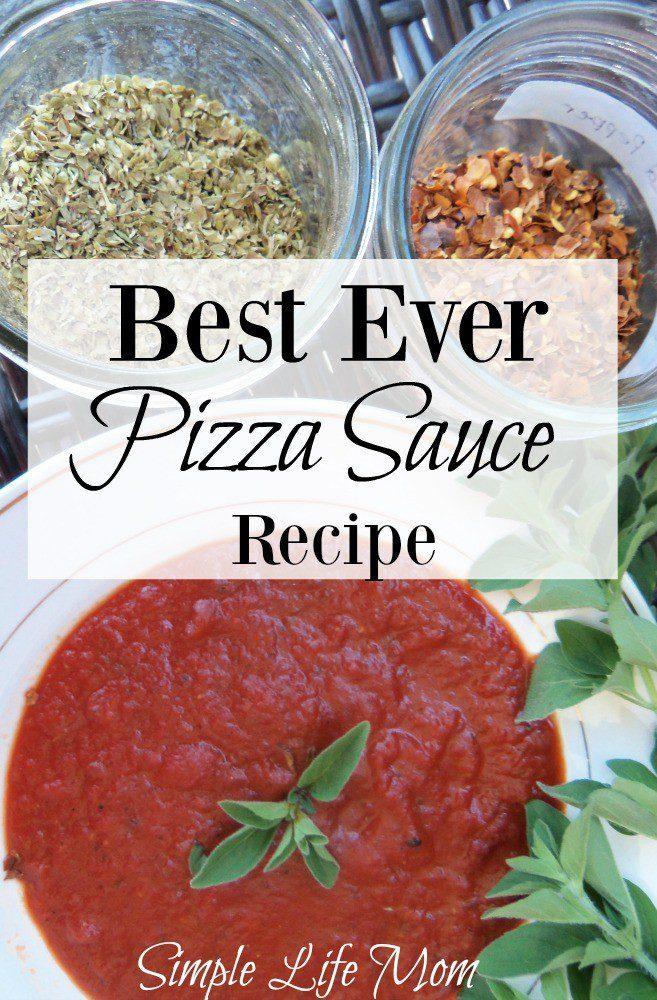 Best Ever Pizza Sauce