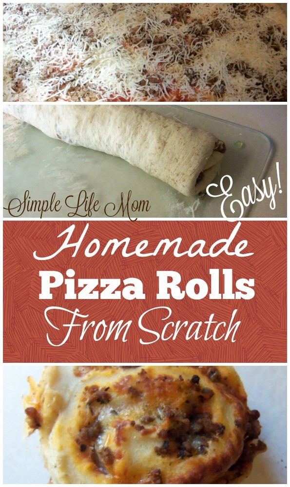 Homemade Pizza Rolls from Scratch