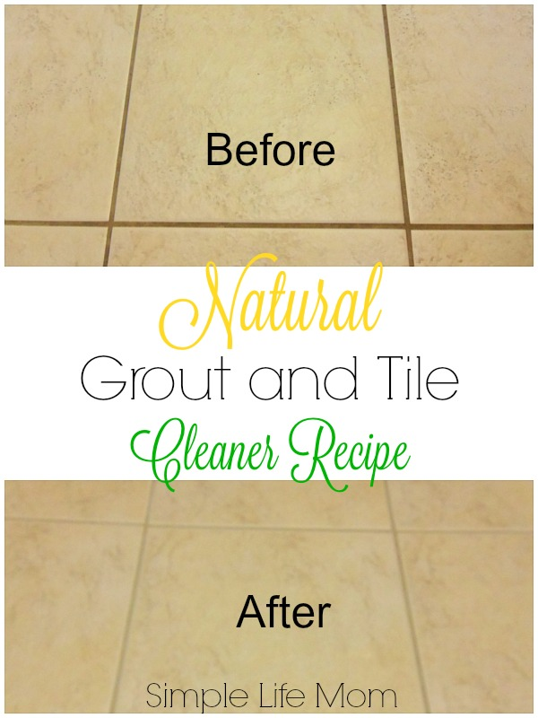 Natural Grout and Tile Cleaner