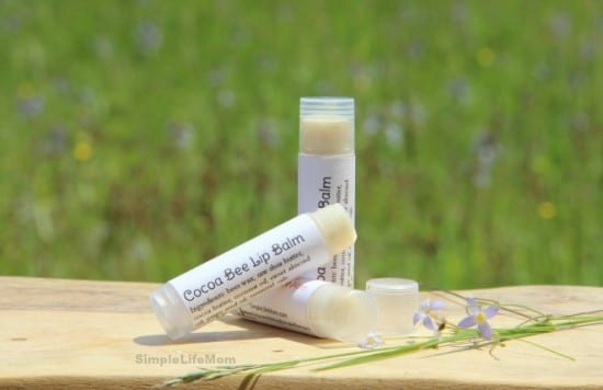 Natural Herbal Mother's Day Gifts - Peppermint Comfrey Lip Balm from Simple Life Mom