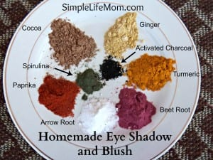 Homemade Eye Shadow and Blush - Top 5 Makeup and Beauty Recipes