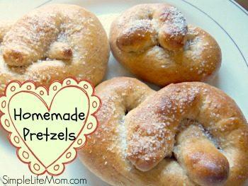 Whole Wheat Pretzels and Pretzel Bites