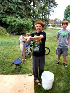 Catfish Adventures and Sweet Cornbread Recipe