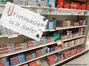 Is Toothpaste Safe