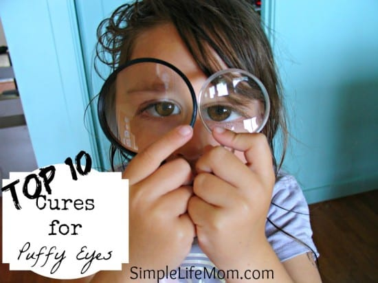 Natural Beauty Product Recipes - Top 10 Cures for puffy eyes- Possible causes, Do's and Don'ts, and top 10 methods to cure puffy eyes