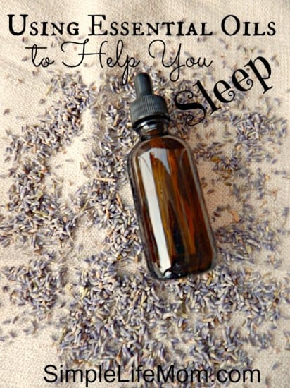 Using Essential Oils to Help You Sleep
