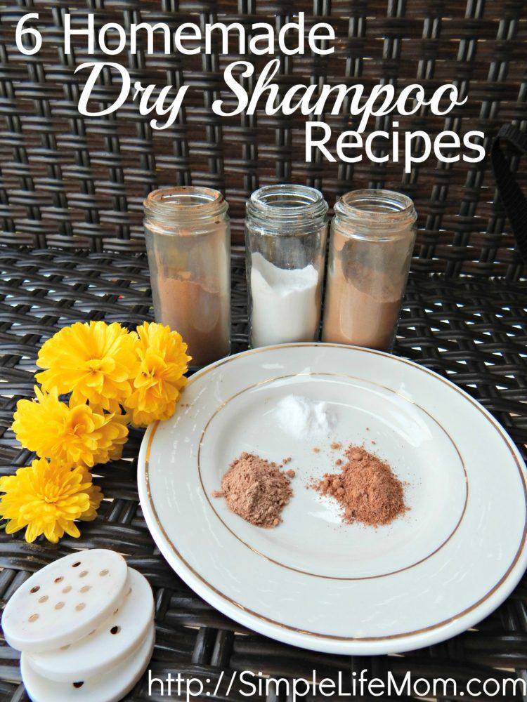 6 Homemade Dry Shampoo Recipes