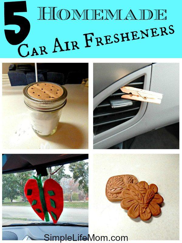 5 Homemade Car Air Fresheners