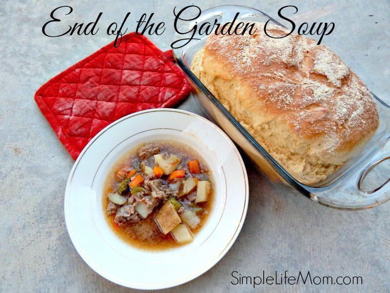 End of the Garden Soup Recipe