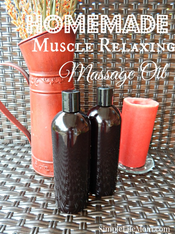 Muscle Relaxing Massage Oil