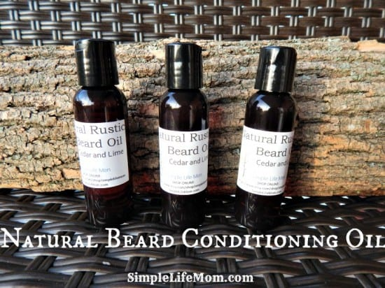 21 Handmade Christmas Gifts - Natural Beard Conditioning Oil from Simple Life Mom