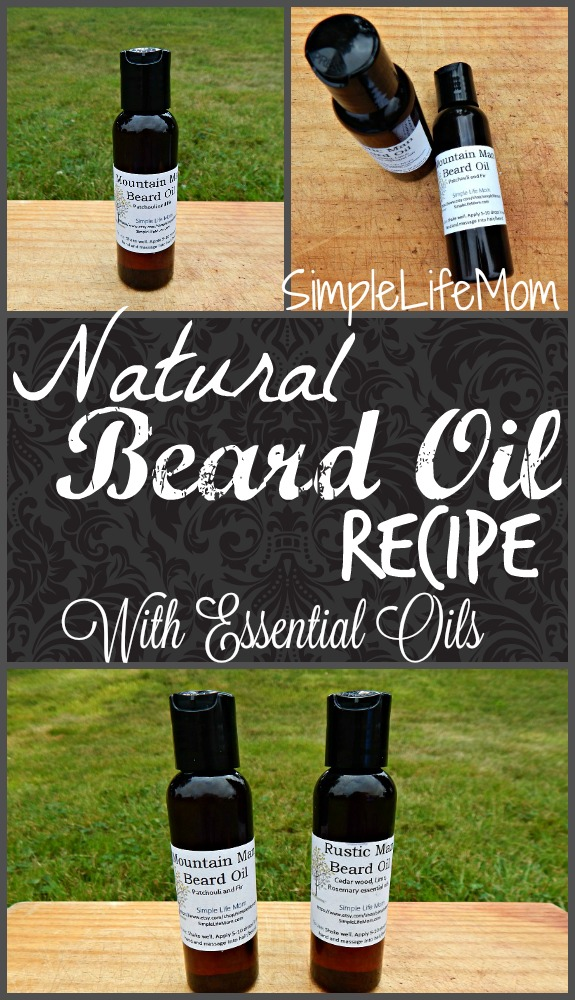 Natural Beard Conditioning Oil Recipe