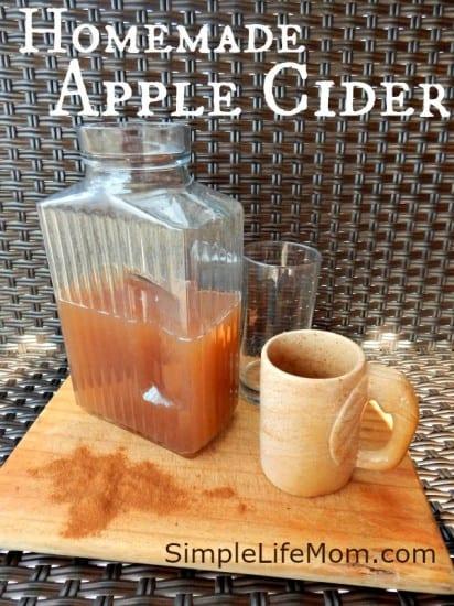 12 Apple Recipes for Fall - Homemade Apple Cider