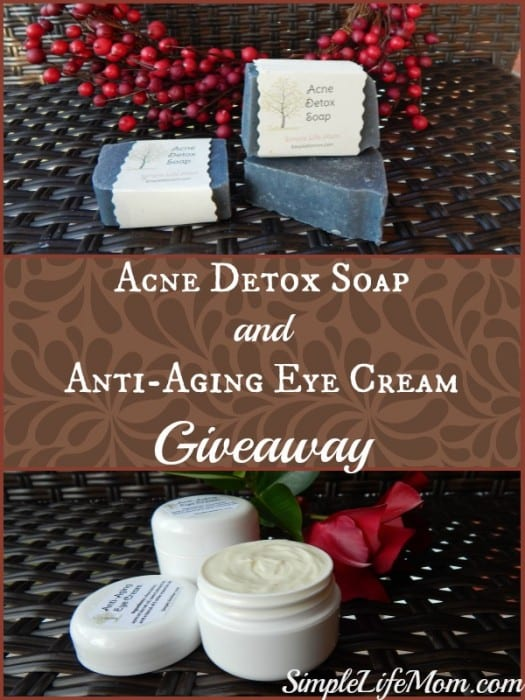 Acne Detox Soap and Giveaway