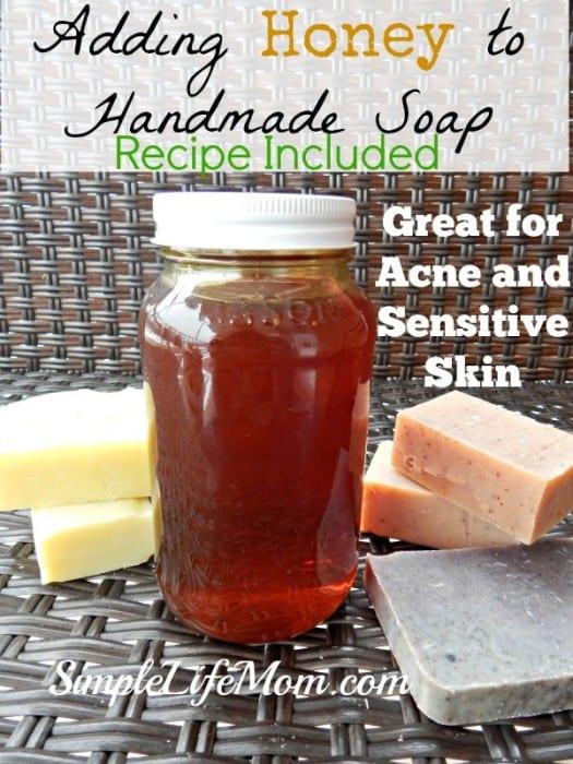 Adding Honey to Handmade Soap2