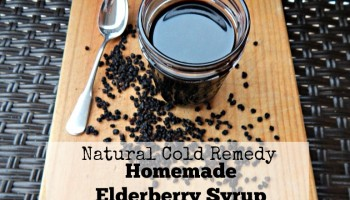 Natural Cold Remedy Homemade Elderberry Syrup Recipe