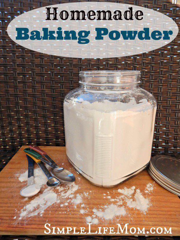 Homemade Baking Powder Recipe