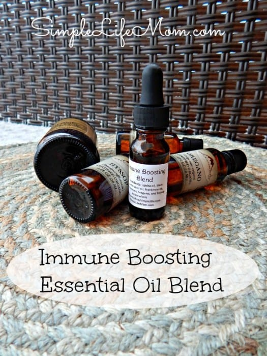 17 Natural Back to School DIYs - Fight Colds and Flu with Essential Oils and enter to win essential oils from Mountain Rose Herbs