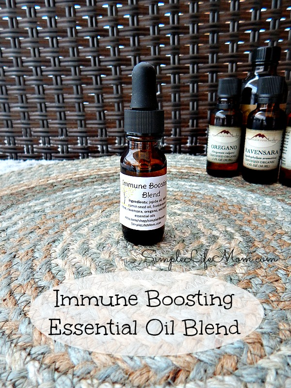 Fight sickness with this Natural Cold and Flu Remedy with Essential Oils and enter Giveaway to win essential oils from Mountain Rose Herbs