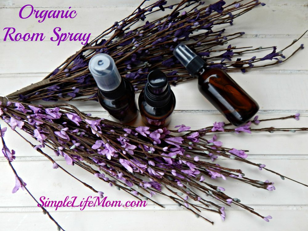 Natural Deodorizing Room Spray