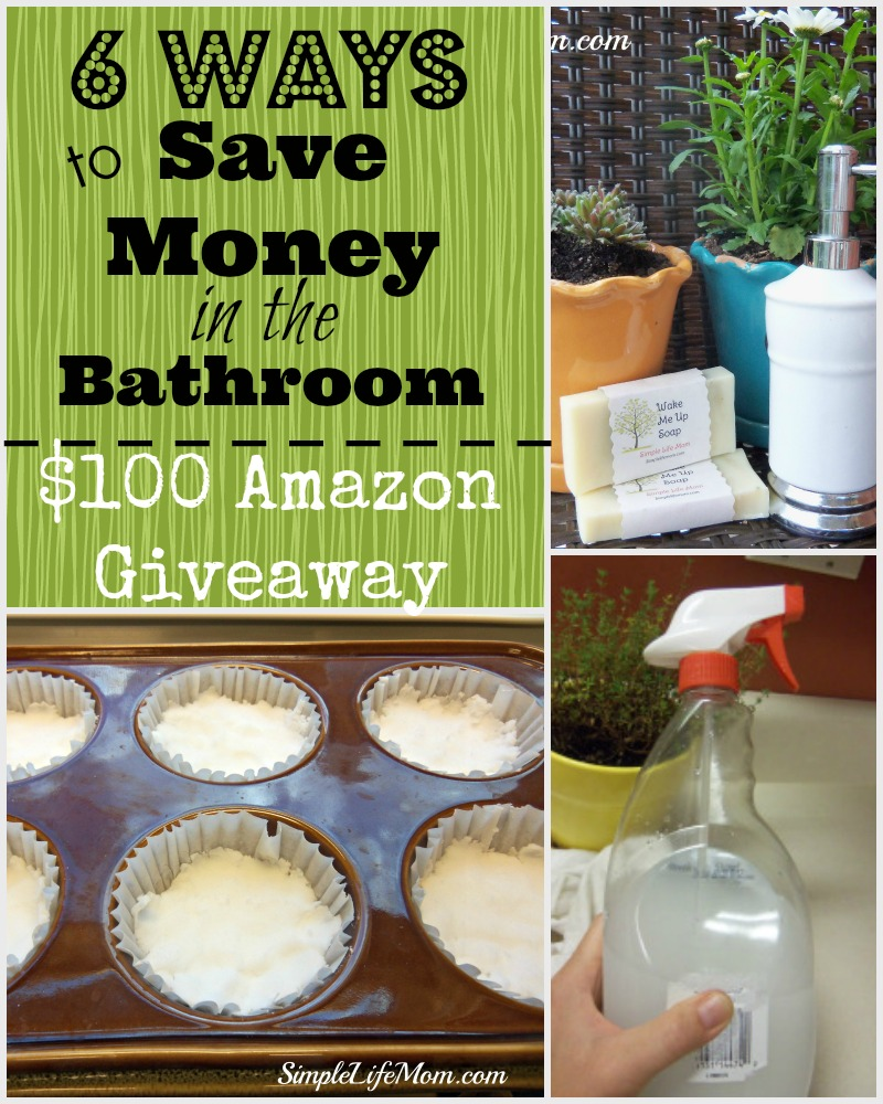 6 Ways to Save Money in the Bathroom