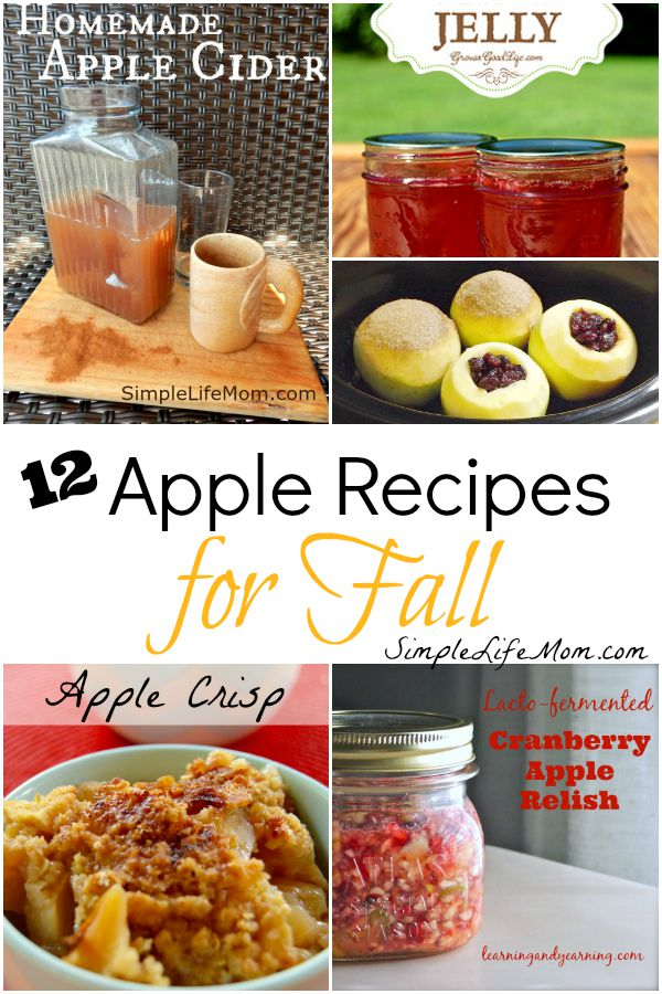 12 Apple Recipes for Fall