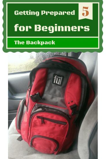 Emergency Preparedness Backpack